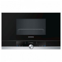 Micro-ondes intégrable Siemens AG BE634LGS1 21 L 900W Acier inoxydable
