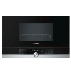 Micro-ondes intégrable Siemens AG BE634RGS1 21 L 900W Acier inoxydable