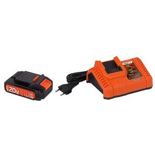 Chargeur 20V/40V + Batterie 20V Li-Ion
