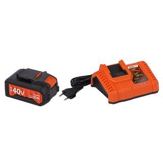 Chargeur 20V/40V + Batterie 40V Li-Ion