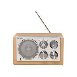 Tr-61Lightwood - Radio Au Design Élégant - Bois Clair