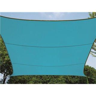 Voile Solaire - Rectangulaire - 2 X 3 M - Couleur : Bleu Ciel