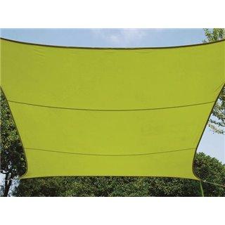 Voile Solaire - Rectangulaire - 4 X 3 M - Couleur: Vert Lime