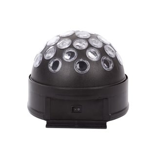 Boule Disco À Led Rvb -  3 X 1 W