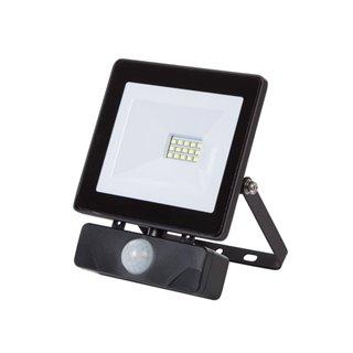 Projecteur Led Pour L'Extérieur - 10 W, Blanc Neutre - Noir - Pir