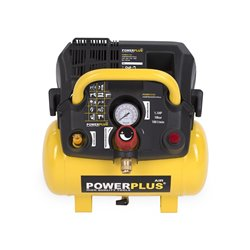 Compresseur 1100W réservoir  6L sans Huile