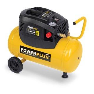 Compresseur 1100W Watts 24 Litres sans huile avec accessoires
