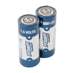 Lot de 2 piles alcalines 1,5 V Super LR1 - Lot de 2