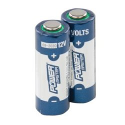 Lot de 2 piles alcalines 12 V Super A23 - Lot de 2
