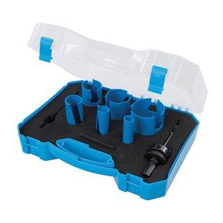 Kit scie-cloche TCT multi-matériaux, 9 pcs - 19 - 57 mm
