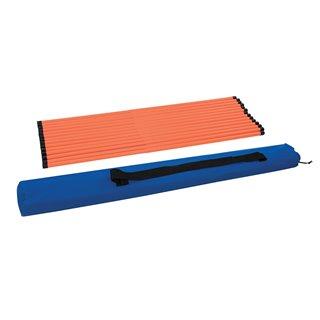 Barres de fixation télescopiques, 14 pcs - 730 - 1050mm