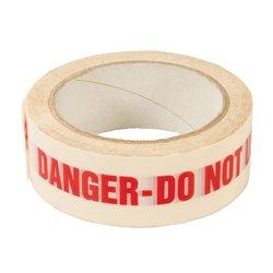 Bande adhésive DANGER DO NOT USE - 38 mm x 33 m