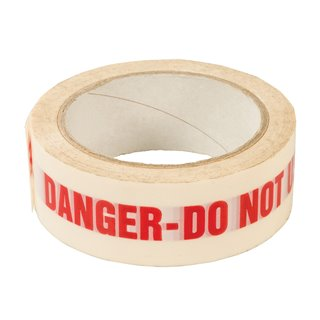 Bande adhésive DANGER DO NOT USE - 38 mm x 33 m