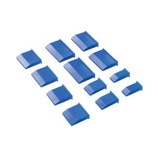 Ensemble de 12 étuis de protection pour lames de burins - 6 - 38 mm