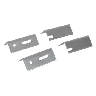Fixations de rechange pour radiateur, 4 pcs - 76 mm