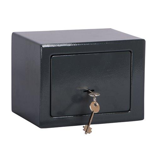 coffre fort a cle 17x23x17cm work men elcfc172317. Black Bedroom Furniture Sets. Home Design Ideas