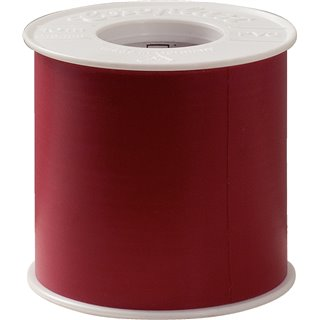 Ruban adhésif isolant rouge, l.102 mm x 10 m