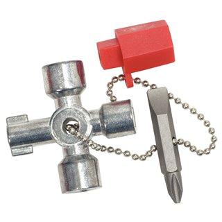 Mini clé universelle pour armoire éléctrique