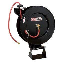 Enrouleur pour tuyau d'air Ø13 longueur 20M avec adaptateur ½