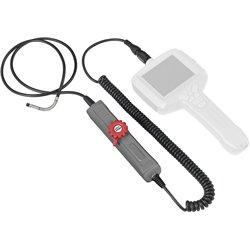 Sonde à caméra frontale flexible 150° - Ø6mm - L,2 m