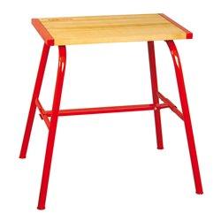 Table sanitaire  / 700x450x30 - plateau en hêtre massif, épaisseur 30 mm -