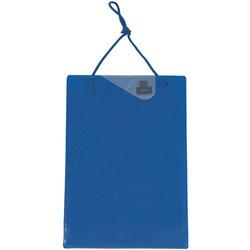 Tablette de fiche de travaux, Bleu