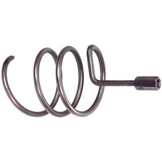 Vrille acier raccord femelle Ø 12 mm, 100mm