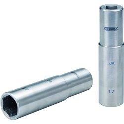 Douille 17mm 95mm  -TITANE-