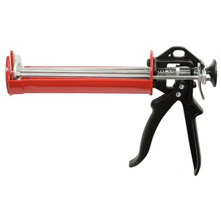 Pistolet KS à double piston - pour mortier chimique - 380 ml
