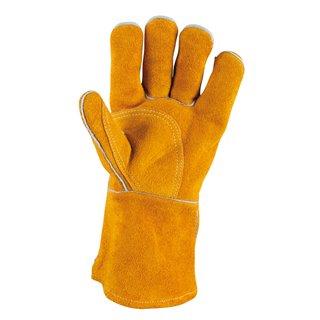Gants de protection courts en cuir pour soudeur, XL