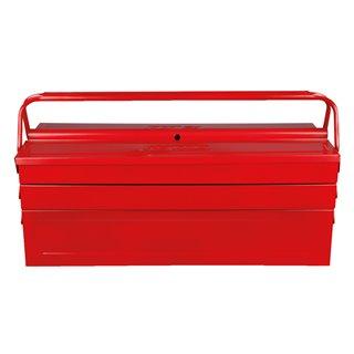 Caisse à outils métallique, 5 compartiments 530 x 210 x 200
