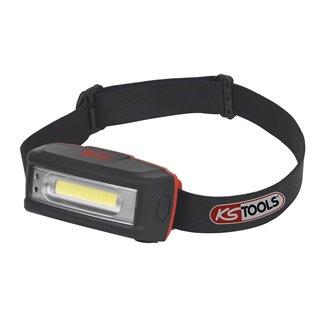 Lampe frontale Leds avec système main libre - 220 lumens