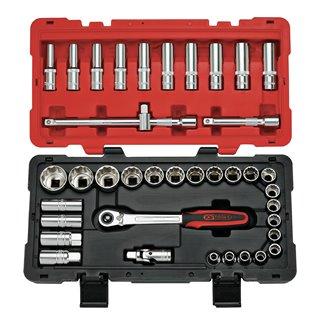 Coffret de douilles et accessoires ULTIMATE® 12 pans - 1/2'', 39 pièces