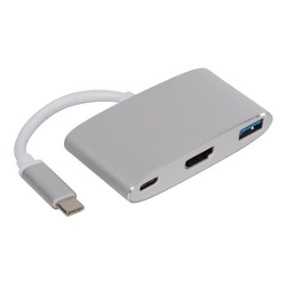 Usb 3.1 Type C Vers Hdmi + Usb 3.0 + Power Delivery