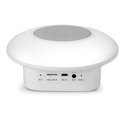 Smooz Disc - Lampe De Tâble Rgb Avec Haut-Parleur - Rechargeable