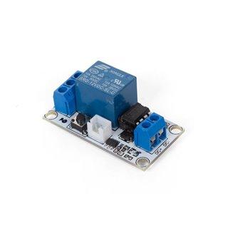 Module Relais Bistable Avec Interrupteur Tactile - 1 Canal - 12 V