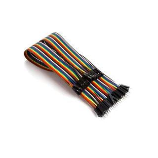 Câble De Liaison 40 Broches 15 Cm Mâle Vers Femelle (Câble Plat)