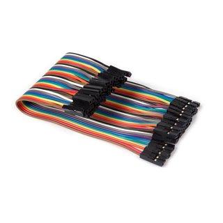 Câble De Liaison 40 Broches 15 Cm Femelle Vers Femelle (Câble Plat)