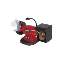 Touret à meuler avec lumière et brosse diam 150mm 450W