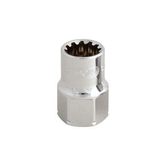 Douille traversante - 12 mm - TRIPLEplus