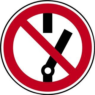 """Panneau de signalisation """"danger électrique"""""""