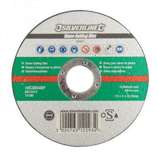 Disque à tronçonner la pierre certifié OSA - 115 x 2 x 22,23 mm