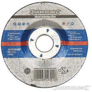 Disque à tronçonner le métal certifié OSA - 115 x 6 x 22,3 mm