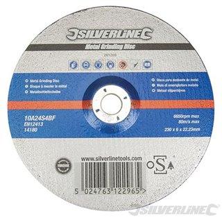 Disque à tronçonner le métal certifié OSA - 230 x 6 x 22,23 mm