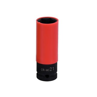 """Douille 1/2"""" ROUGE 21MM"""