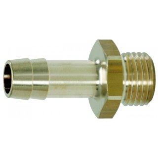 "Raccords de filetage mâle pr tuyaux 1/4""Gx6mm  clé 17  L,35"