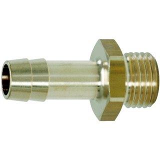 "Raccords de filetage mâle pr tuyaux 1/4""Gx9mm  clé 17  L,35"