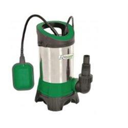 Pompe vide-cave 900 Watts  eaux chargées inox + interrupteur flotteur