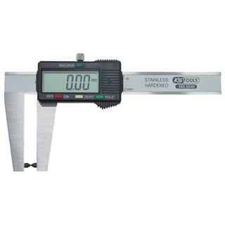 Calibre à coulisse inox digital pour disque de frein, coffret plastique