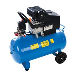Compresseur d'air 2 ch, 1 500 W - 50 L